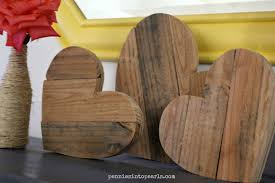 Creative Diy Wood Ls Pallet Wood Hearts Step By Step Tutorial To Make In A Hour
