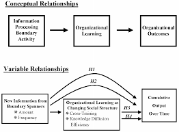 the impact of boundary spanning on organizational learning