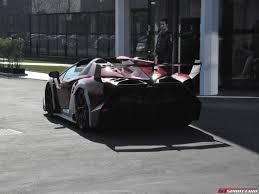 Lamborghini Veneno Details - spotted lamborghini veneno roadster outside factory premises