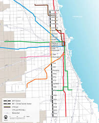 Chicago Transit Authority Map by Details Emerge For Bus Rapid Transit On Chicago U0027s Ashland Avenue