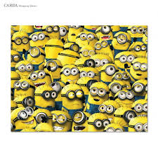 minion gift wrap minion christmas wrapping papers happy holidays