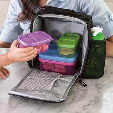 Rubbermaid Bag U0026 Kitchen Wrap Amazon Com Rubbermaid Small Durable Black Lunch Box Bag With