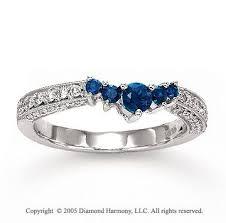 sapphire wedding ring best 25 sapphire wedding rings ideas on best wedding