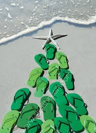 flip flop tree boxed cards at the