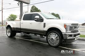 Ford F350 Truck Rims - ford f350 with 26in american force concept wheels exclusively from