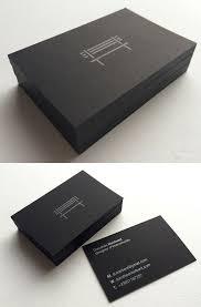 Bisness Card Design Best 25 Black Business Card Ideas On Pinterest Modern Business