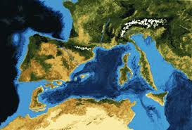 Map Of The World 1 Million Years Ago by Messinian Salinity Crisis U0026 Zanclean Flood Image Series 6 5