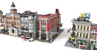 Lego Headquarters Lego Ghostbusters Headquarters Modular Scale Ghostbusters Fans