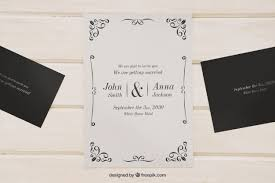 wedding invitations psd mock up for wedding invitations psd file free