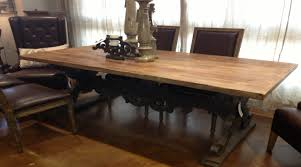 dining room reclaimed wood dining room table amazing rustic