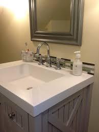 Brilliant Bathroom Backsplash Fair Bathroom Vanity Backsplash - Bathroom vanity backsplash ideas