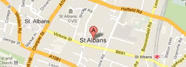 map of st albans visit st albans information for daytrips and holidays in st