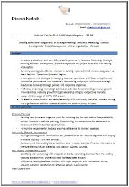 Job Objectives For Resume by Sample Template Of An Excellent B Tech Ece Resume Sample With