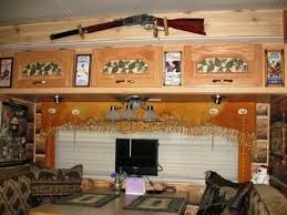 Rv Interiors Images Couple Gets Closer To Nature With A Custom Log Cabin Interior
