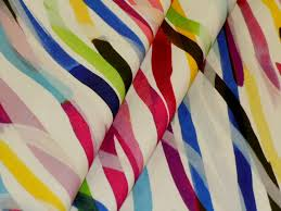 home decor hamilton watercolor rainbow brush stroke design home decor fabric