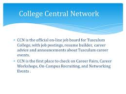 college central resume builder tusculum experience class your roadmap to success how to prepare