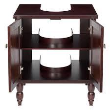 pedestal sink vanity cabinet sinkwrap 25 in w x 20 in d vanity cabinet only for pedestal sinks