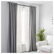 alvine spets net curtains 1 pair white 145x250 cm ikea