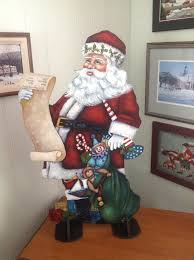376 best painted santa images on decorative paintings