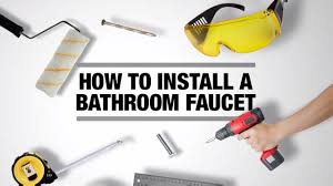 How To Change A Faucet In The Bathroom How To Install A Bathroom Faucet Bath How To Videos And Tips