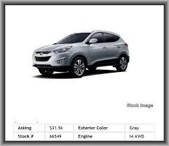 hyundai tucson airbags 2014 hyundai tucson limited suv heated mirrors mp3 vanity mirror