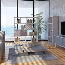 Wohnzimmer Regale Design Offenes Regal Für Helligkeit Im Raum Von Ikarus Roomido Com