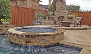 Backyard Spas Custom Hot Tub Designs Klein Custom Pools - Backyard spa designs