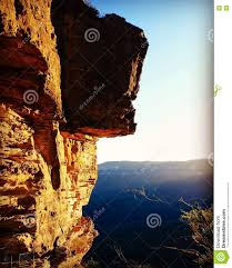 nature bluemountains australia cliff sunset rock high view warm