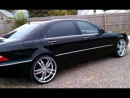 2003 mercedes s500 for sale mercedes s500 22 staggered rims one of a