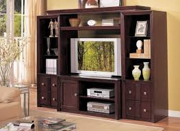 Flat Screen Tv Wall Cabinet With Doors Bigger Televisions Smaller Cabinets
