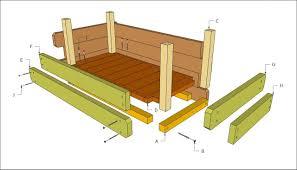 beautiful wood planter box plans free