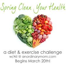 spring clean the spring clean your health challenge an ordinary mom