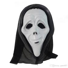 April Halloween Costume Halloween Horror Mask Ghost Devil Scream Masks Party Masks