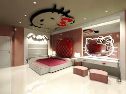 luxury ideas for a hello kitty bedroom with modern vanity with