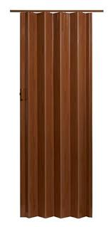 Vinyl Closet Doors Spectrum Oakmont Pecan Hollow 1 Panel Accordion Interior Door