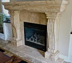 Travertine Fireplace Hearth - natural stone del bosque llc marble travertine onyx direct prices