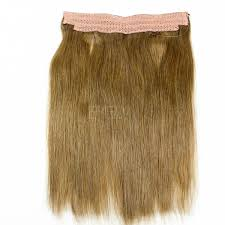 extension hair flip in 100 human hair no shedding halo extension hair cx042