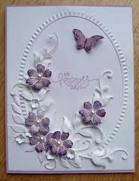 butterfly and flowers by dolly watt cards and paper crafts at