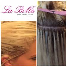 la hair extensions la made nano tips are the most discreet available our