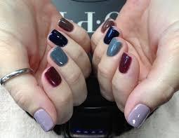 heather u0027s color block nails u003c3 phoenix az nail files pinterest