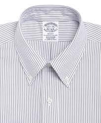men u0027s slim fit striped dress shirt brooks brothers