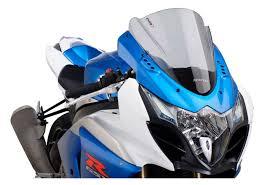 puig racing windscreen suzuki gsxr 1000 2009 2016 revzilla