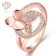 buy online rings images Gold jewellery online shopping unique flower design inlaid cubic jpg