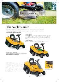 the neat little rider lawn tractors stiga garden range primo