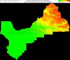 Map Of Fresno Free Fresno County California Topo Maps U0026 Elevations