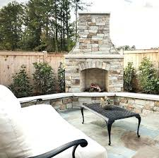 Backyard Fireplace Ideas Patio With Fireplace Ideas Outdoor Pit Designs Best
