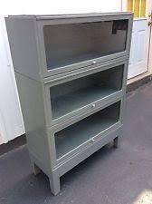 Steel Barrister Bookcase Globe Wernicke Base Ebay