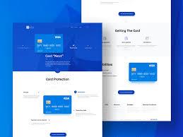 web page design web design on behance