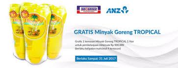 Minyak Di Indogrosir gratis minyak goreng tropical di indogrosir untuk pengguna kartu