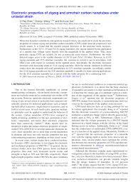 Armchair Nanotubes Electronic Properties Of Zigzag And Armchair Carbon Nanotubes